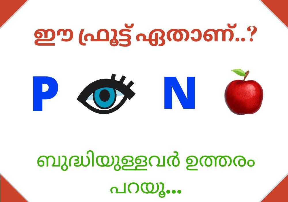 guess the fruit malayalam